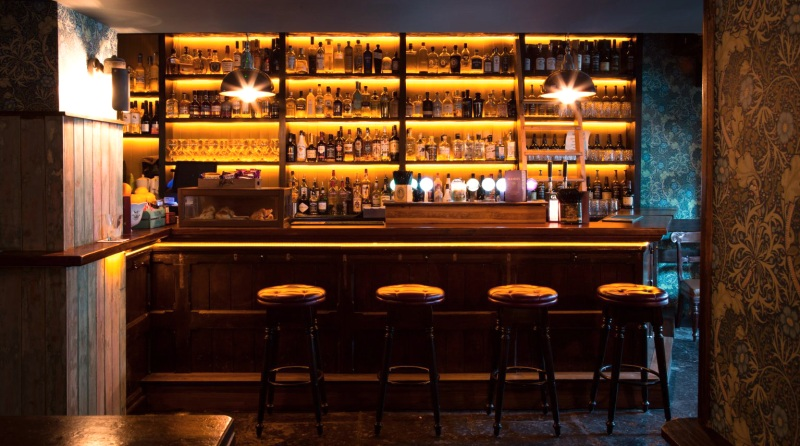 Classic bar design Waterford Ireland