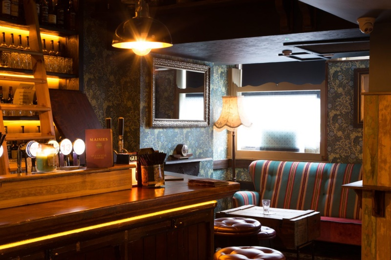 Traditional bar design Waterford Ireland
